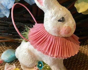 Darling, Vintage Style Bunny Treat Cache