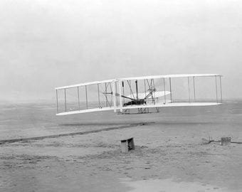 First Flight, Wright Brothers, Kitty Hawk, North Carolina, NC, Early 1900's
