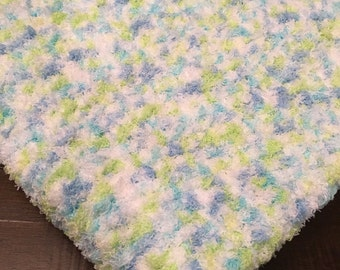 Super Soft Crochet Baby Blanket, Baby Lovie
