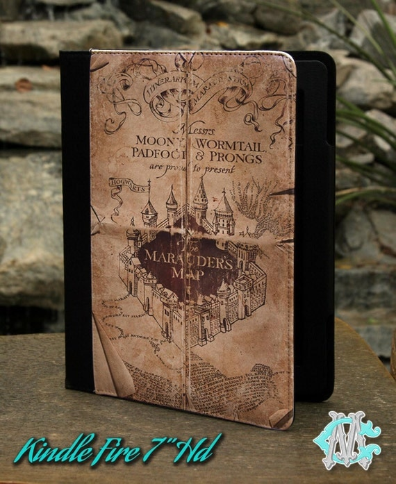 Harry Potter Book Kindle Case : Edition kindle fire hd book cover case harry