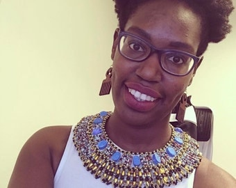 African Queen Statement Necklace
