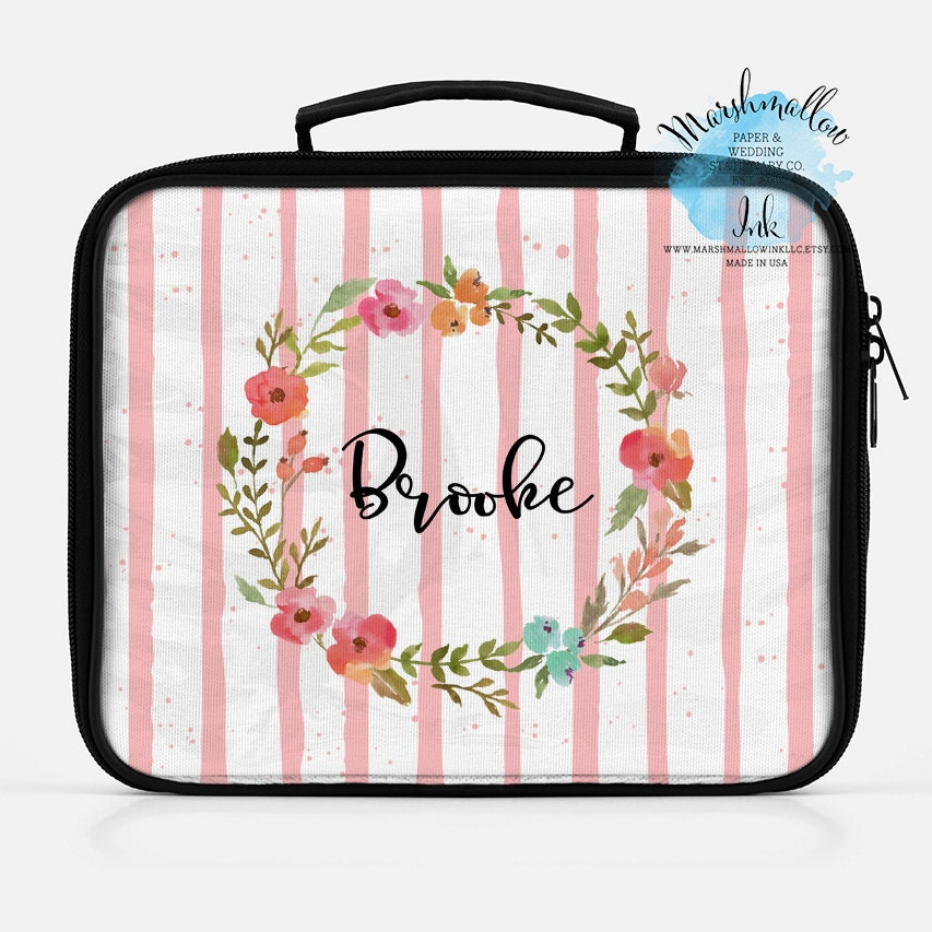 Christmas Gift Lunch Bag Insulated Lunch Bag Monogrammed