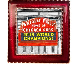Chicago Cubs World Series Ornaments