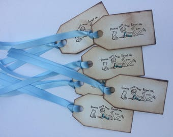 Winnie the Pooh and Christopher Robin Set of 6 Gift Tags
