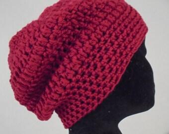 crochet hat in Debbie Bliss cashmerino