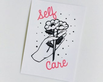 Self Care 5x7 Art Print