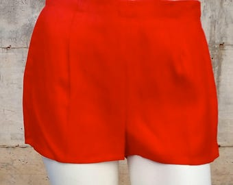 Short in cotton and silk made in italy, size S, 1950