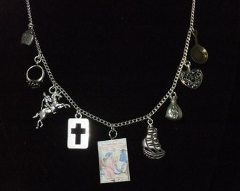 The Canterbury Tales Book Necklace - Great Gift for Book Lovers!