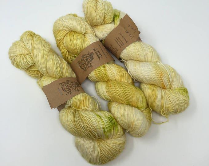 Singles- Fingering weight: Lemongrass