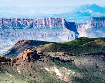 Big Bend National Park, Santa Elena Canyon, Landscape Photography, Print, Home Decor, Office Decor, Fine Art Photograph