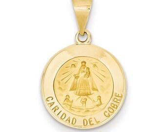 Caridad Del Cobre Medal Pendant (JC-1154)