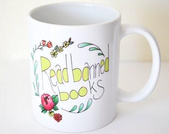 Read Banned Books Mug