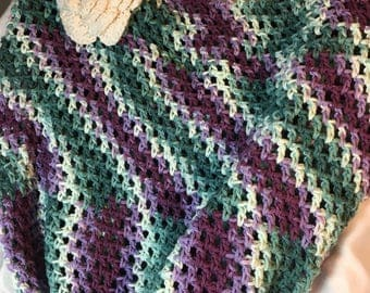 Extra Large Market Bag, Hand Crocheted