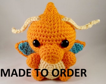 MADE TO ORDER Amigurumi Dragonite