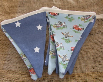 Cath Kidston Bunting, Planes, Trains and Cars.