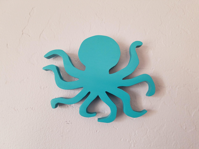 Ocean Decor Octopus Decor Wall Hanging Decoration Multiple