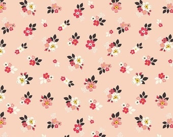 Vintage Daydream Floral Pink by Design by Dani for Riley Blake Designs, 1/2 yard, C5563-Pink