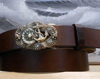 Compass Rose Anchor Belt