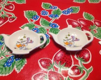 Vintage set of ceramic tea bag holders or caddies- George Good, Japan