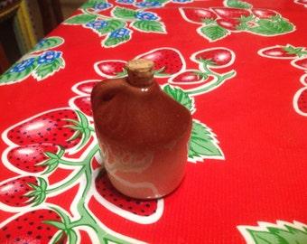 Vintage ceramic souvenir moonshine  jug toothpick holder- Tennessee