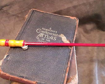 Gryffindor colors inspired Harry Potter wand