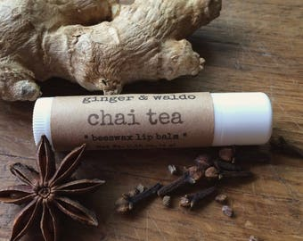 Chai Tea Lip Balm - Chai Tea - Lip Balm - Beeswax