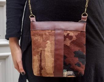 Gobelin handmade embroidery series , handbag, Women Bag,crossbody bags