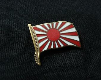 Japan Military Flag pin badge