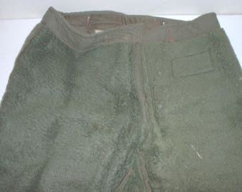 Canadian Army X-51 extreme cold weather trousers; shell & liner; 1952 dated; 35X31