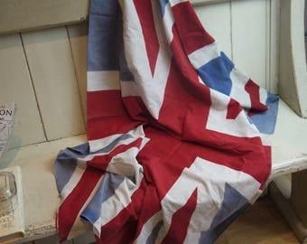 Vintage Union Jack Flag - British Made Circa 1930s