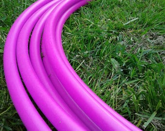 "UV Magenta HDPE Hula Hoop--3/4"" OD"
