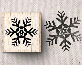 Stamp with snowflake SVALA X 2,0 x 2,0 cm