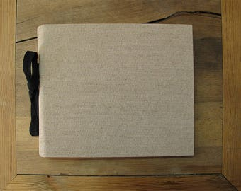 "130. NATURAL BEIGE-Drawing notebook/Album 10,2"" x 8,8"""