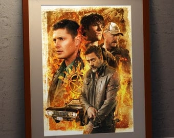 Supernatural 'Family' A3 Poster