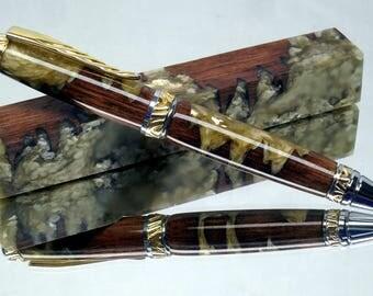 MICA N Wood Glow In The Dark Pen Blanks