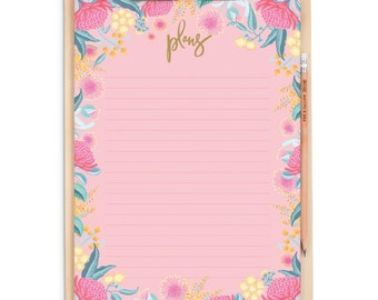 Wildflower A4 Clipboard Pack