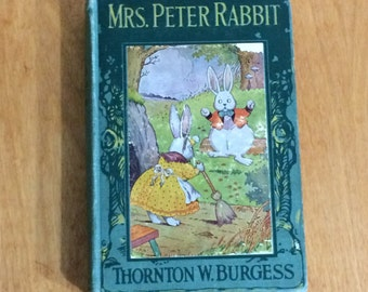 Mrs Peter Rabbit by Thornton W Burgess 1919 - Illustration by Harrison Cady