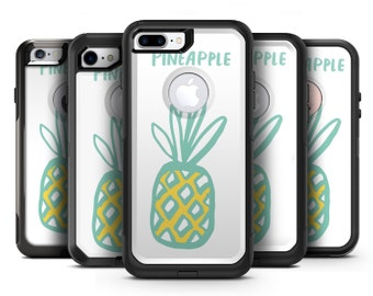 Bold Mint Pineapple - OtterBox Case Skin-Kit for the iPhone, Galaxy & More