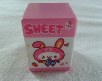 vintage kawaii sweet multiple cased scented erasers
