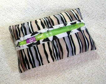 Pocket Tissue Holder - Tissue Holder - Tissues - Kleenex - Fabric Tissue Holder - Contemporary Fabric - Modern Fabric - TC150