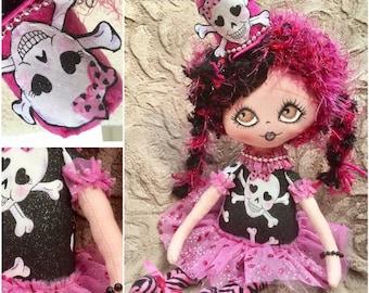 Indie Art Dolls Claudia Glam Goth