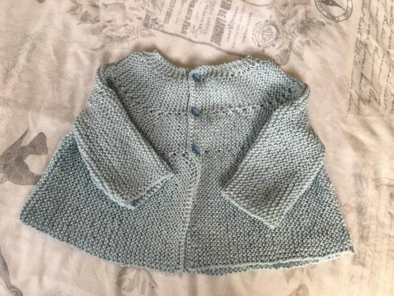 Hand knitted boys/girls cardigan/jacket