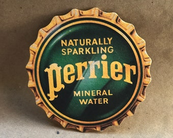 SET Of 4 Perrier Mineral Water Coasters