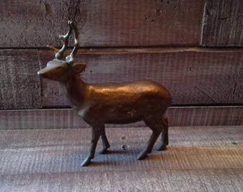 Vintage Brass Deer / Buck
