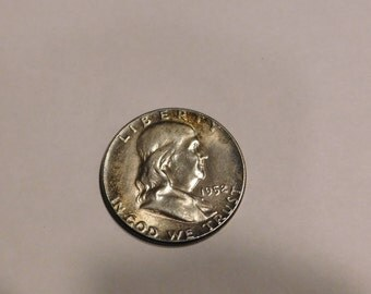1952 Benjamin Franklin Half Dollar Coin