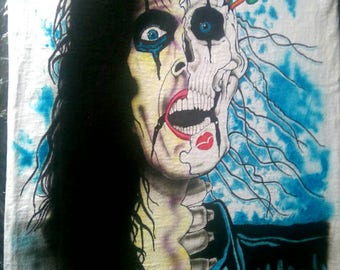 Alice Cooper Airbrushed t-shirts Trash replica