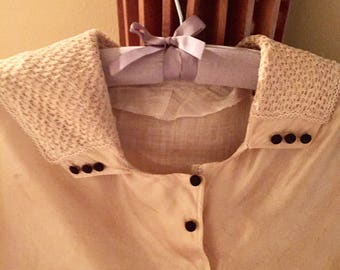 Sale-Victorian Silk Blouse