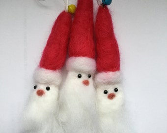 Needle Felt Father Christmas Santa Claus