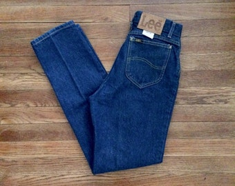 Sz 27 / 4 Lee High Waist Mom Jeans