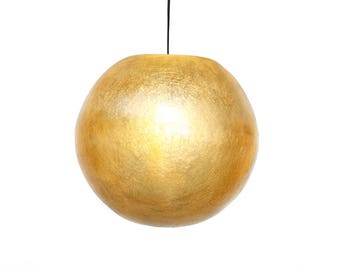 Olive Green ball lamp